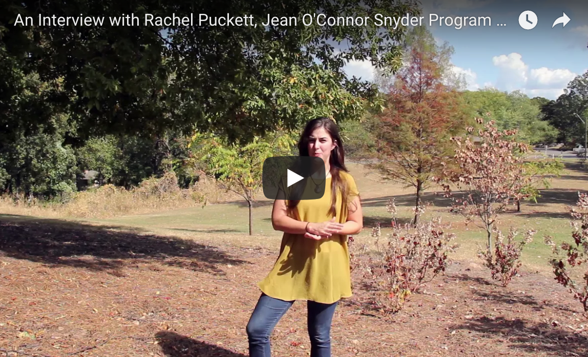 Screen Grab of Rachel Puckett Interview